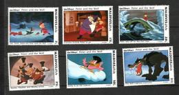 """MALDIVES Timbres De 1993 Neufs** """"pierre Et Le Loup"""" - Maldiven (1965-...)"""
