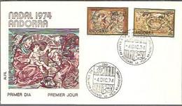 FDC  1974 MARCA ALFIL - Covers & Documents