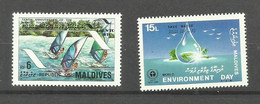MALDIVES N°1017, 1155 Neufs** Cote 4.65 Euros - Maldiven (1965-...)