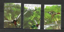 MALDIVES N°1948 à 1950 Cote 6 Euros - Maldiven (1965-...)