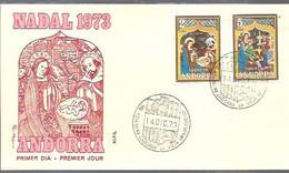 FDC  1973  MARCA ALFIL - Covers & Documents