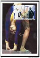 Republic De Guinee Olympics Nadia Comaneci On Kind Of Maximcard Or Memorycard 2001 - Verano 1976: Montréal