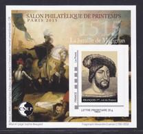 CNEP N° 68 NEUF ** LUXE - SALON DE PRINTEMPS PARIS 2015, Bloc Autoadhésif, TB - CNEP