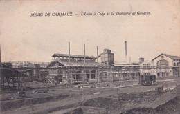 MINES DE CARMAUX - L'Usine à Coke Et La Distillerie De Goudron         CPA : Neuve,tbé - Carmaux