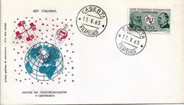 Fdc Filagrano UIT (1965); No Viaggiata; AF_Caserta - F.D.C.