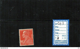 FRANCE Charnière* - N° 243 - Ungebraucht