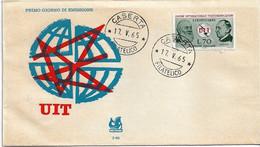 Fdc Bucintoro UIT (1965); No Viaggiata; AF_Caserta - F.D.C.