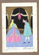 MENU De 1929.. Mariage Edouard BALLE Et Simone MOUSALLIER - Menus