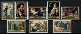 ESPAGNE 1974 N° 1858/1865 ** Neufs MNH Superbes C 2 € Journée Du Timbre Tableaux Paintings Tobie Et L'Ange Rosales Saint - 1971-80 Nuovi