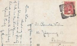 Zanzibar Carte Postale Pour La Suisse 1921 - Zanzibar (...-1963)