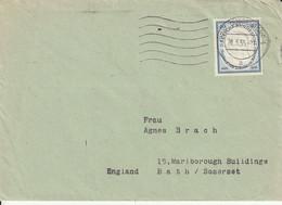 Allemagne Lettre Düsseldorf Pour L'Angleterre 1955 - Briefe U. Dokumente