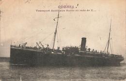 TRANSPORT AUXILLIAIRE RUSSE : ODESSA - Sonstige