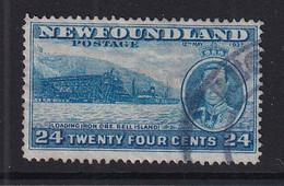 Newfoundland: 1937   Coronation Issue  SG265c   24c  [Perf: 13½]   Used - 1908-1947