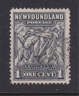 Newfoundland: 1941/44   Pictorial  SG276   1c   [Perf: 12½]   Used - 1908-1947