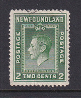 Newfoundland: 1941/44   Pictorial  SG277   2c   [Perf: 12½]   Used - 1908-1947