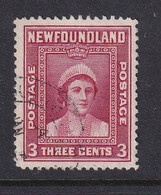 Newfoundland: 1941/44   Pictorial  SG278   3c   [Perf: 12½]   Used - 1908-1947