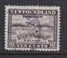 Newfoundland: 1941/44   Pictorial  SG283   10c   [Perf: 12½]   Used - 1908-1947