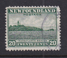 Newfoundland: 1941/44   Pictorial  SG286   20c   [Perf: 12½]   Used - 1908-1947