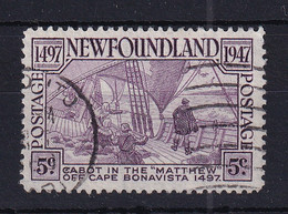 Newfoundland: 1947   450th Anniv Of Cabot's Discovery Of Newfoundland  SG294   5c   Used - 1908-1947