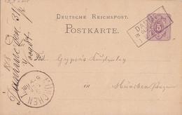 DR Ganzsache R3 Damme In Oldenburg 1.9.78 Gel. Nach München - Briefe U. Dokumente