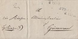 Preussen Brief L2 Stralsund 2. JANR. Mit Siegel - Preussen