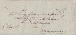 Preussen Brief L2 Tuchel 10.3. Gel. Nach Marienwerder - Preussen