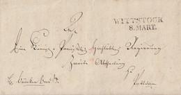 Preussen Brief L2 Wittstock 8 MART. (1819) Mit Inhalt - Preussen