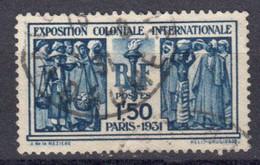 France 1930 Yvert 274 Obliteres Exposition Coloniale Internationale De Paris - Gebraucht