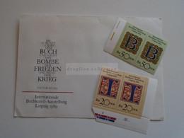 D185108  DDR 1989 Buchkunstausstellung IBA Leipzig - Ungebraucht