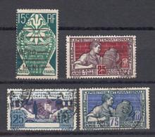 France 1924 Yvert 211 / 214 Oblitérés. Exposition Internationale Arts Décoratifs Paris - Gebraucht