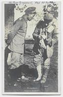 GERMANY POSTKARTE FELPOST 1917 ZU GUNITEN - Covers & Documents