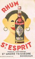 BUVARDS RHUM ST ESPRIT MARQUE CENTENAIRE  BORDEAUX BE  1 - Liquor & Beer