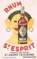 BUVARDS RHUM ST ESPRIT MARQUE CENTENAIRE  BORDEAUX BE  2 - Liquor & Beer