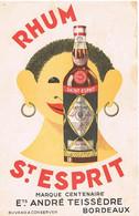 BUVARDS RHUM ST ESPRIT MARQUE CENTENAIRE  BORDEAUX BE  3 - Liquor & Beer