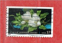 (Us.2) Stati Uniti ° - 2004 - Fleurs De Magnolia.   Yv. 3572. .  Used. - Gebraucht