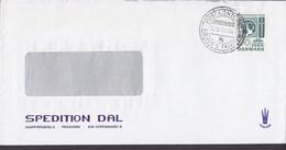 Denmark SPEDITION DAL, Deluxe Post Kontoret KØBENHAVN (8.) KBHVN's FRIHAVN 1973 Cover Brief Cz. Slania Stamp - Briefe U. Dokumente