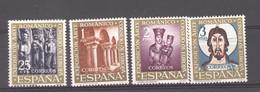 Espagne   :  Yv  1038-41  ** - 1961-70 Nuovi