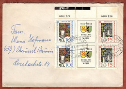 Brief, Leipziger Messe, Karl-Marx-Stadt Nach Oberursel 1964 (5406) - Briefe U. Dokumente