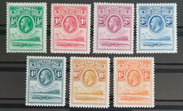 Basutoland, 1933, SG Nr 1-7, Short Set, MH/* - 1933-1964 Crown Colony
