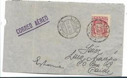 Per061 / PERU - Servicio Aereo, 400-Jahrfeier San Miguel De Puira  1932. Gültig Nur Am 28.7.32 - Pérou