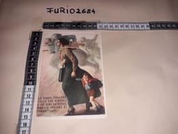 MIL01 ILLUSTRATORE BOCCASILE LA DONNA ITALIANA NON VIAGGIATA NUOVA - Guerra 1939-45