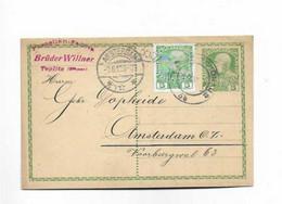 Karte Aus Teplitz Schönau Nach Amsterdam 1912 - Covers & Documents