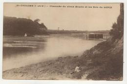 35 - St-Coulomb - Chaussée Du Vieux Moulin Et Les Bois Du Lupin - Saint-Coulomb