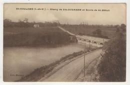35 - St-Coulomb - Etang De Ste-Suzanne Et Route De St-Malo - Saint-Coulomb