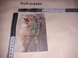 MIL01 ILLUSTRATORE BOCCASILE IL LEONE E IL SOLDATO NUOVA NON VIAGGIATA - Guerra 1939-45