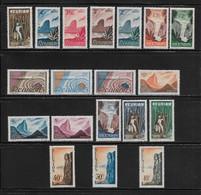 REUNION  ( FRCFA - 253 )  1947  N° YVERT ET TELLIER  N° 262/280   N* - Unused Stamps
