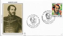 Fdc Filagrano Gold : KOSSUTH LAJOS (1994); No  Viaggiata ;AS - F.D.C.
