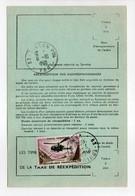 - ORDRE DE RÉEXPÉDITION DÉFINITIF, TOULON (Var) 7.10.1968 - 10 F. L'Alouette - Modèle N° 755 B - - Briefe U. Dokumente