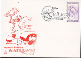 Roemenië 1991, Letter Special Stamped Bird (200pcs) - Briefe U. Dokumente