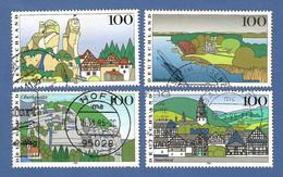 BRD 1995  Mi.Nr. 1807 / 1810 , Bilder Aus Deutschland (III) - Gestempelt / Fine Used / (o) - Gebraucht
